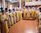 Предстоятель возглавил богослужение по случаю престольного праздника храма нашего благочиния