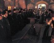 Епископ Боярский Феодосий совершил чтение Великого покаянного канона в сослужении духовенства Шевченковского района